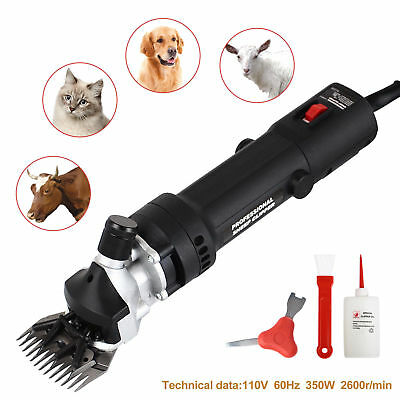 350w Electric Shears Clippers Goat Sheep Animal Shave Grooming Farm Supplies