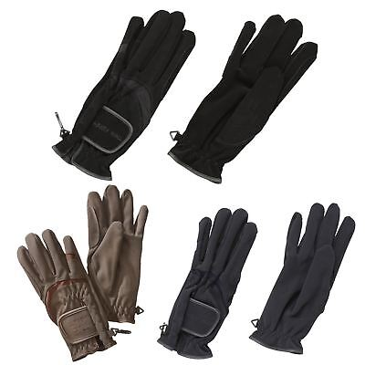 Harry Hall Equestrian Women Ladies Horse Riding Synthetic Glv1 Domy Suede Gloves