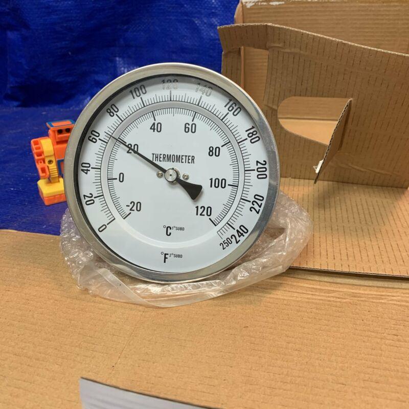 Grainger Approved 1NGE5 Bimetal Thermometer