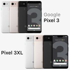 Google Pixel 3 XL - 64GB  -   Black / Pink / White - UNLOCKED -