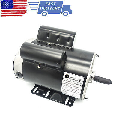 5 Hp Spl 3450 Rpm Air Compressor 60 Hz Electric Motor 208-230 Volts Century B385