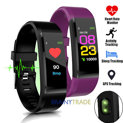 Womens Activity (Fitness Smart Watch Activity Tracker Heart Rate For Women Men Fitbit Android)