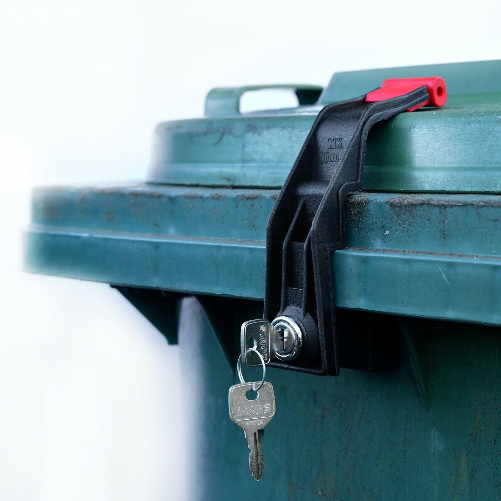 Mülltonnenschloss ohne Bohren 60-360 L