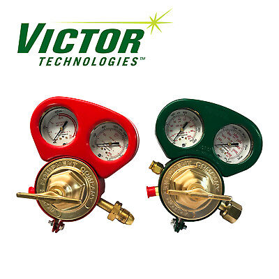 Set Of Heavy Duty Victor Sr450d Sr460a Regulators W Metal Gauge Guards