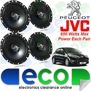 Peugeot 207 2006 JVC 17cm 6.5