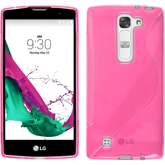 Silicone Case LG G4c - S-Style hot pink + protective foils