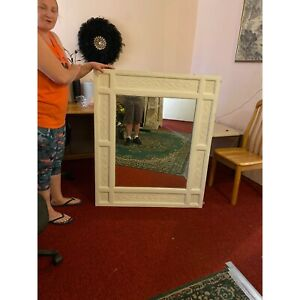 Tv cabinet & large hall mirror