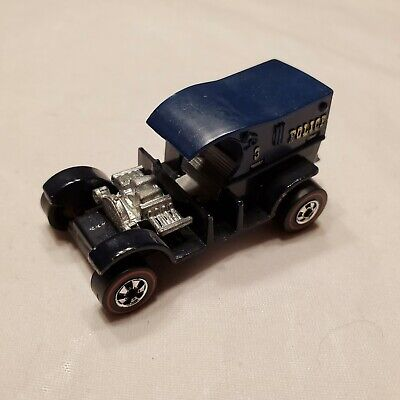 ORIGINAL HOT WHEELS REDLINE PADDY WAGON FLYING COLORS Black/Blue HK EXCELLENT