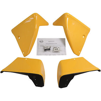 Chicane Yellow Front & Rear Splash Guards 999J2ZVEAC04 ZVEAC03 09-13 Nissan 370Z