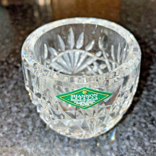 EUC Shannon Crystal Designs Of Ireland Classic Sunburst Votive Candle Holder