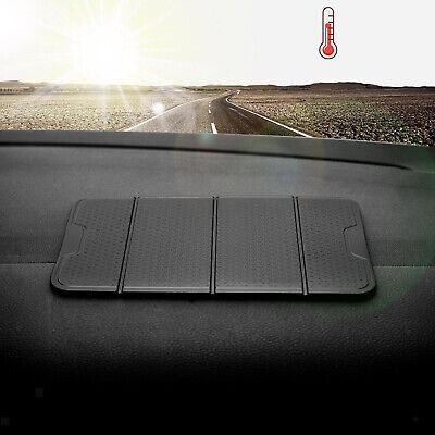 Foldable Car Dashboard Sticky Pad Silicone Mat Mobile Phone Holder Washable