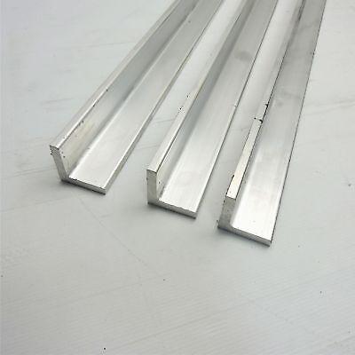 .375 Thick Aluminum 2 X 2 Angle 27 Long Qty 3 Sku 137709