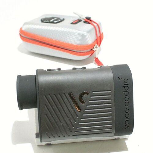 Voice Caddie L4 Golf Laser Rangefinder with Slope - Black Good Condition