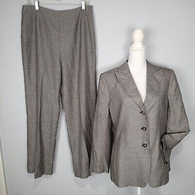 KASPER Womens Career Pant Suit Size 12 jacket blazer
