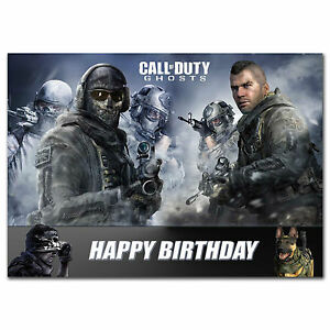177 Call of duty ghost Dad Son Grandson Brother Nephew 11th 12th 13th 14th 15th