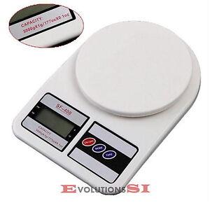 Balanza bascula peso cocina electr nica digital de 1 a 5 for Peso de cocina