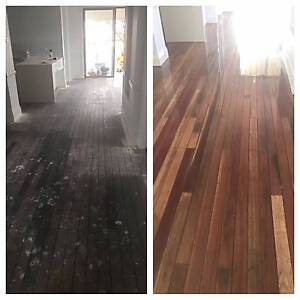 TIMBER FLOOR SERVICES Newcastle Newcastle Area Preview