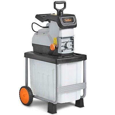VonHaus 2800W Garden Shredder / Rapid Waste Electric Cutter /Chipper / Mulcher
