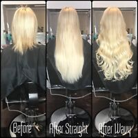 Hair extensions and more (Double drawn European remy hair)