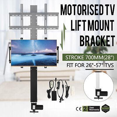 Elektrische TV Lift Halterung Hub Plasma/LCD Motorisierte 700mm 28