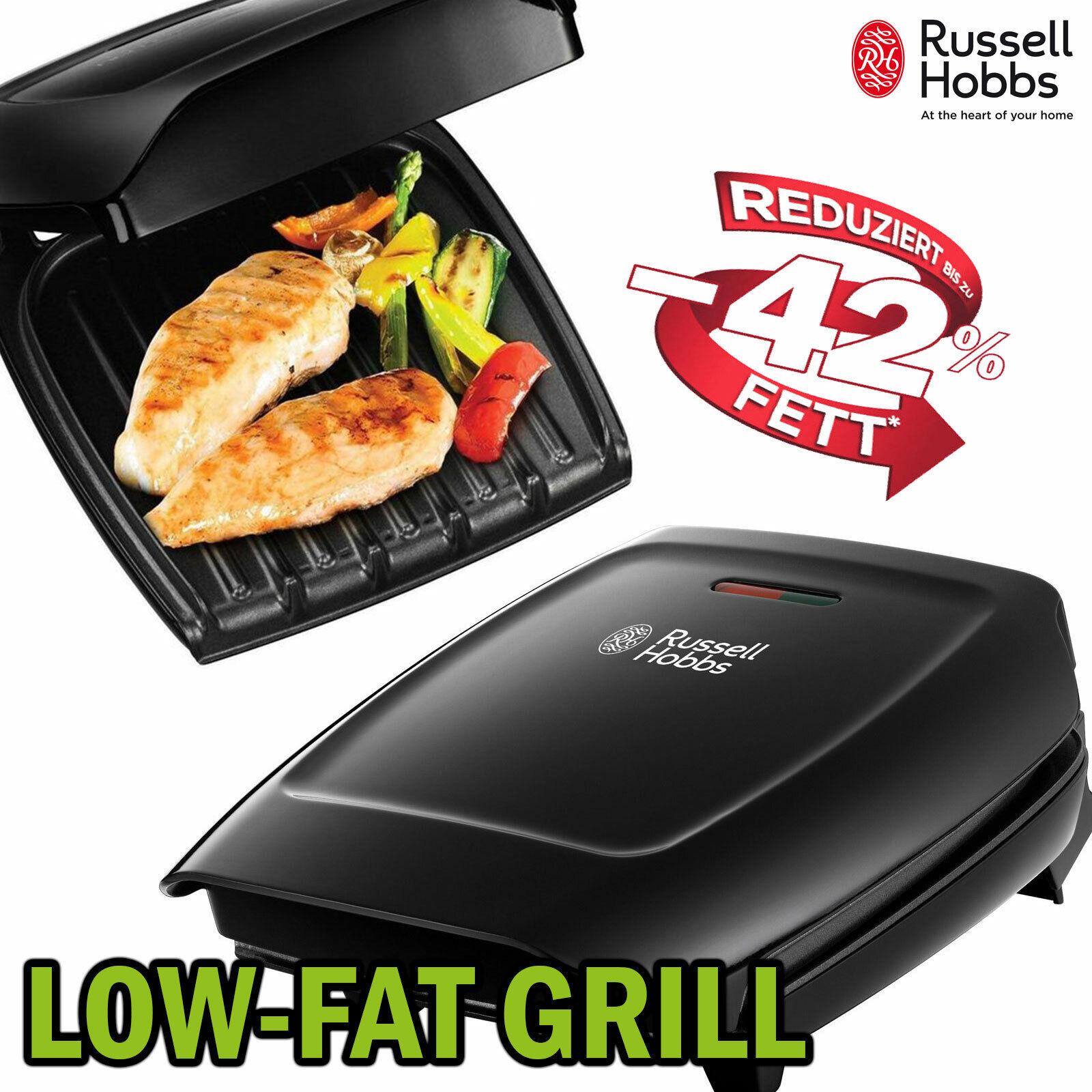 Elektro Grill Tischgrill Sandwich Maker 2in1 Panini Grillplatte Russell Hobbs