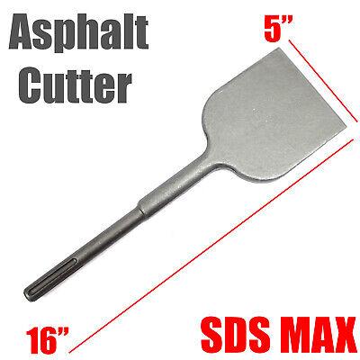 Sds Max 5 X 16 Asphalt Cutter Chisel Bit For Jack Hammer Drill Milwaukee Bosch