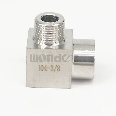 38 Bsp Female To Male Elbow 90 Deg 304 Stainless Steel Pipe Fitting Connector
