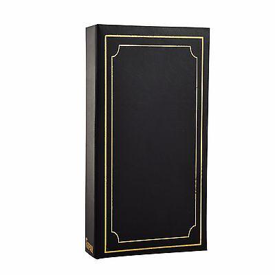 Arpan '6x4' Plain Photo Album with 300 Pockets- Ideal Gift  -Black AL-9810