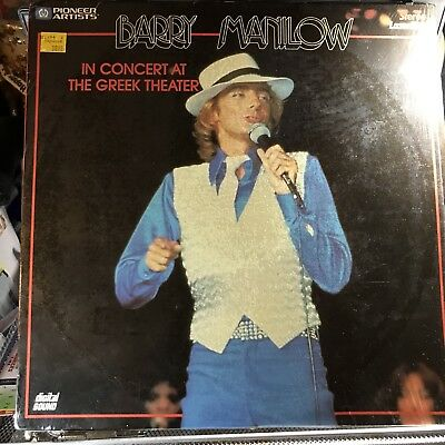 Laserdisc Barry Manilow-'The Concert At The Greek Theater'  1978