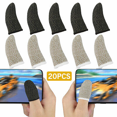 20Pcs Screen PUBG Gaming Finger Sleeve Game Controller