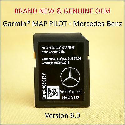 Mercedes-Benz CLA-CLS-GLA-SLC-B-E-Class Navigation SD Card GARMIN Map Pilot OEM