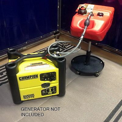 Champion 2000w Inverter Generator 6 Gal Extended Run Fuel System