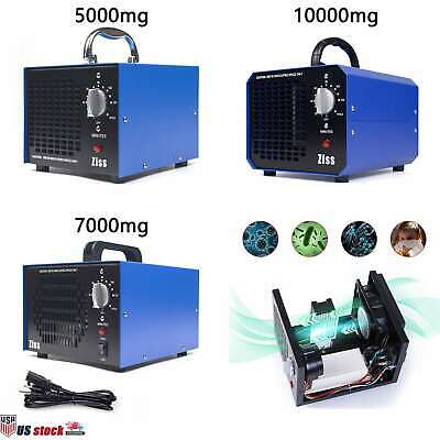 5000/7000/10000mg/h Ozone Generator Commercial Air Purifier Home Car Deodorizer