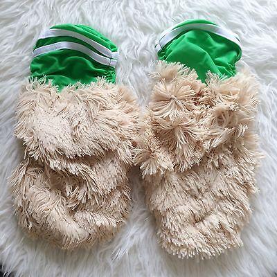 NEW J VALENTINE MC Hamster Halloween Costume Green Sporty Gogo Rave Legwarmers