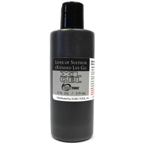 Liver of sulphur Gel XL Cool Tools SOL-610.04 Patina Finish Compound 4oz T61004