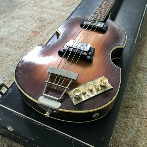 1965 Hofner 500/1 Beatle Bass w/ Orig. Hard Shell Case [Central FL pickup only]