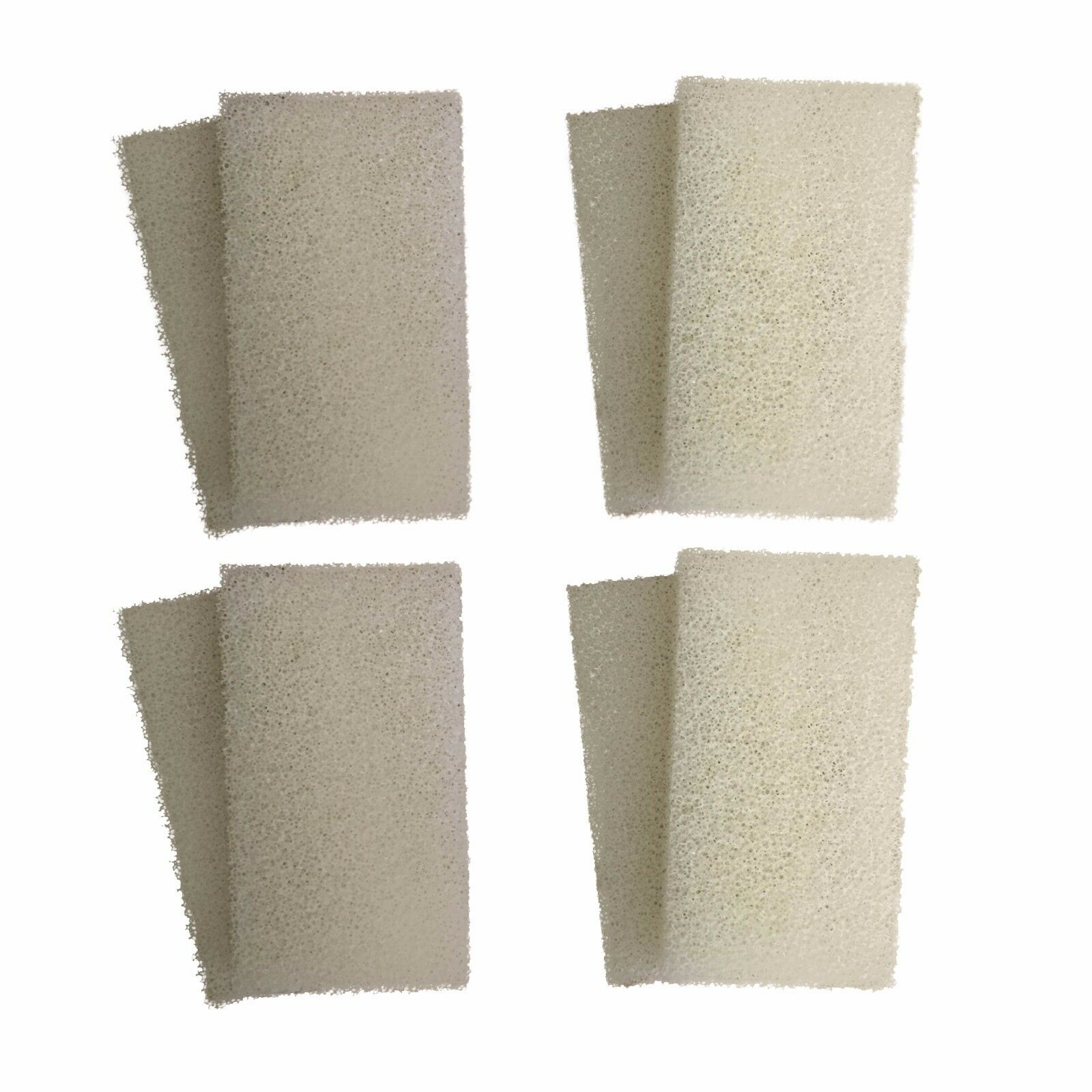 Finest-Filters 4 x Compatible Foam And 4 x Compatible Polycarbon Carbon Cartridges To Fit Fluval U3 Internal