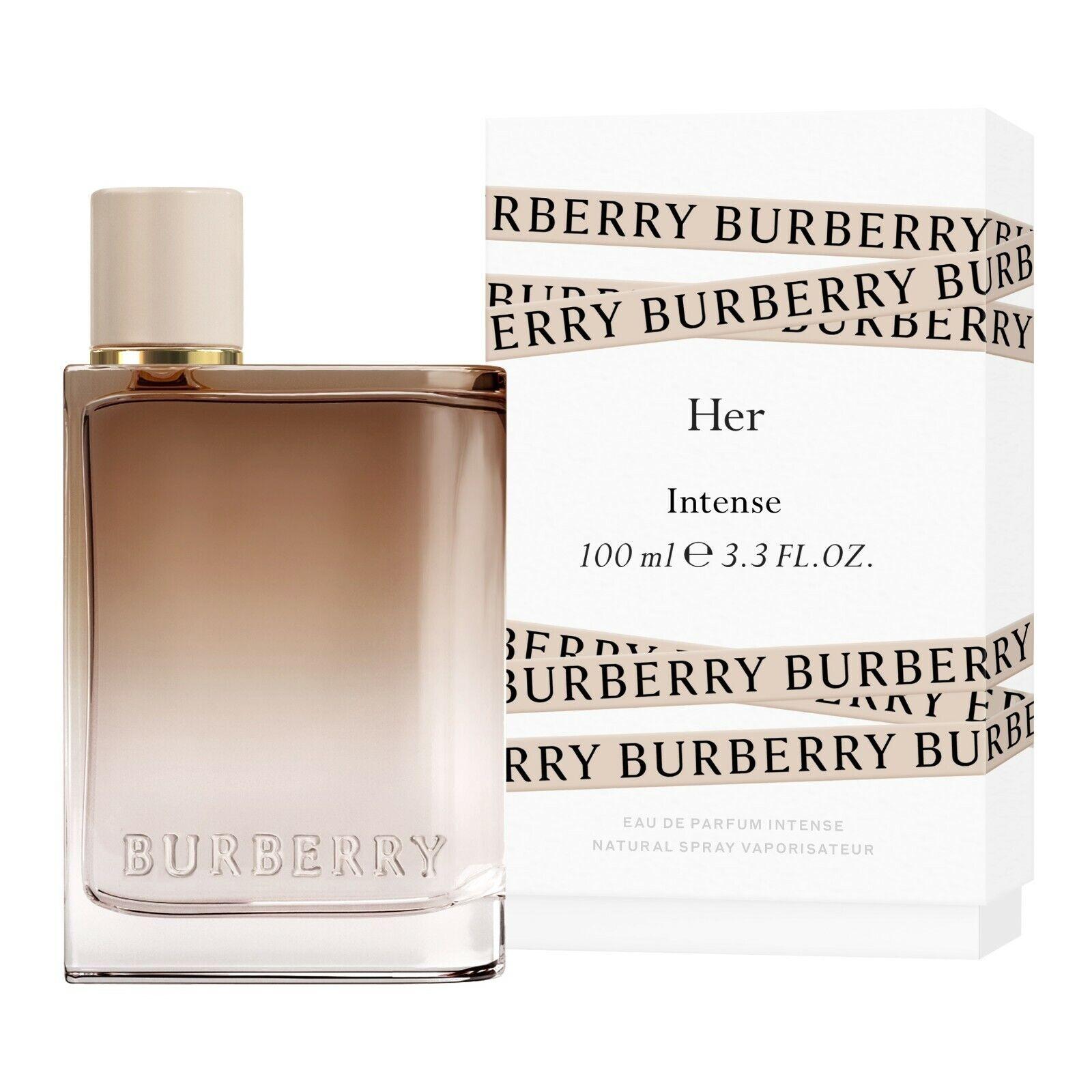 BURBERRY HER INTENSE EDP NAT.SPRAY 100 ml e 3.3 FL.OZ - BRAND NEW 100% AUTHENTIC