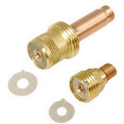 Weldtec Air-cooled 2 Fer Gas Lens Collet Body 116 Pkg5 45v25-2