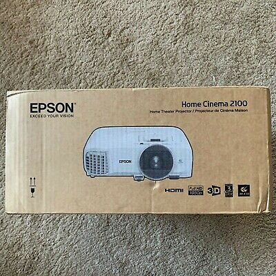 Epson Home Cinema 2100 1080p 3LCD Projector V11H851020 White