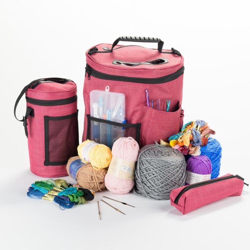 Tote Bags For Crochet Yarn Storage