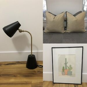 Modern home items like new or new