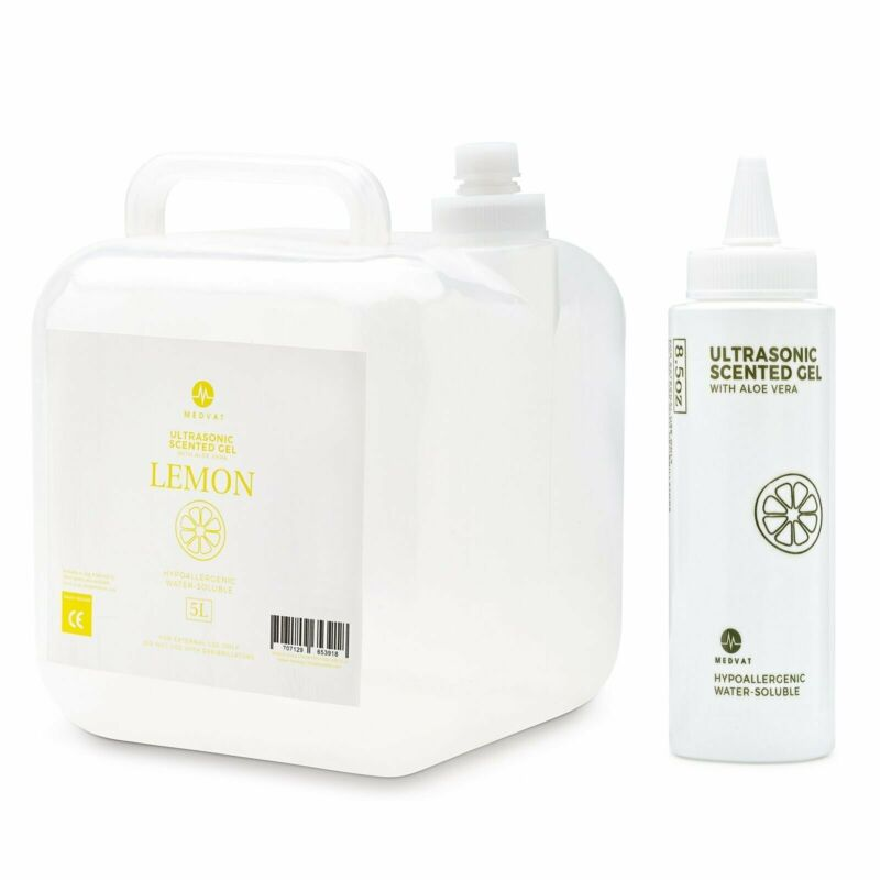 Medvat Clear Transmission Gel - Lemon Scented - 5 Liter Container
