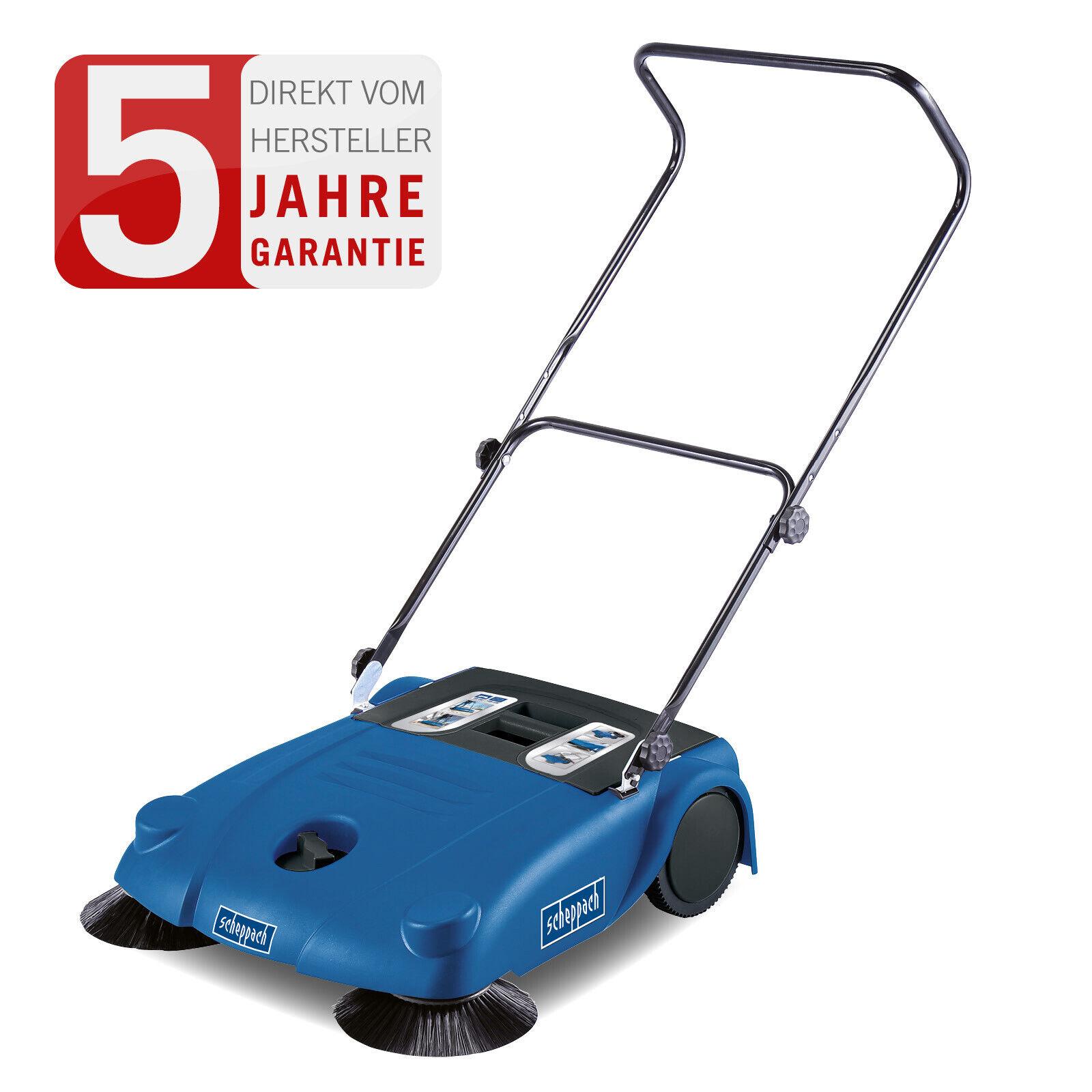 scheppach Kehrmaschine S700 Handkehrer Kehrer Handkehrmaschine 700mm Räumbreite