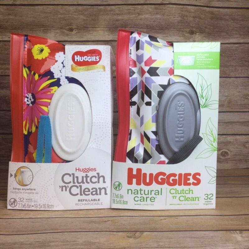 Huggies Natural Care Clutch N Clean Refillable Clutch (2 Pack)