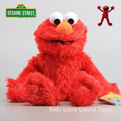 Sesame Street Elmo Plush Hand Puppet Play Games Doll Toy Puppets Fun toy Gift ()