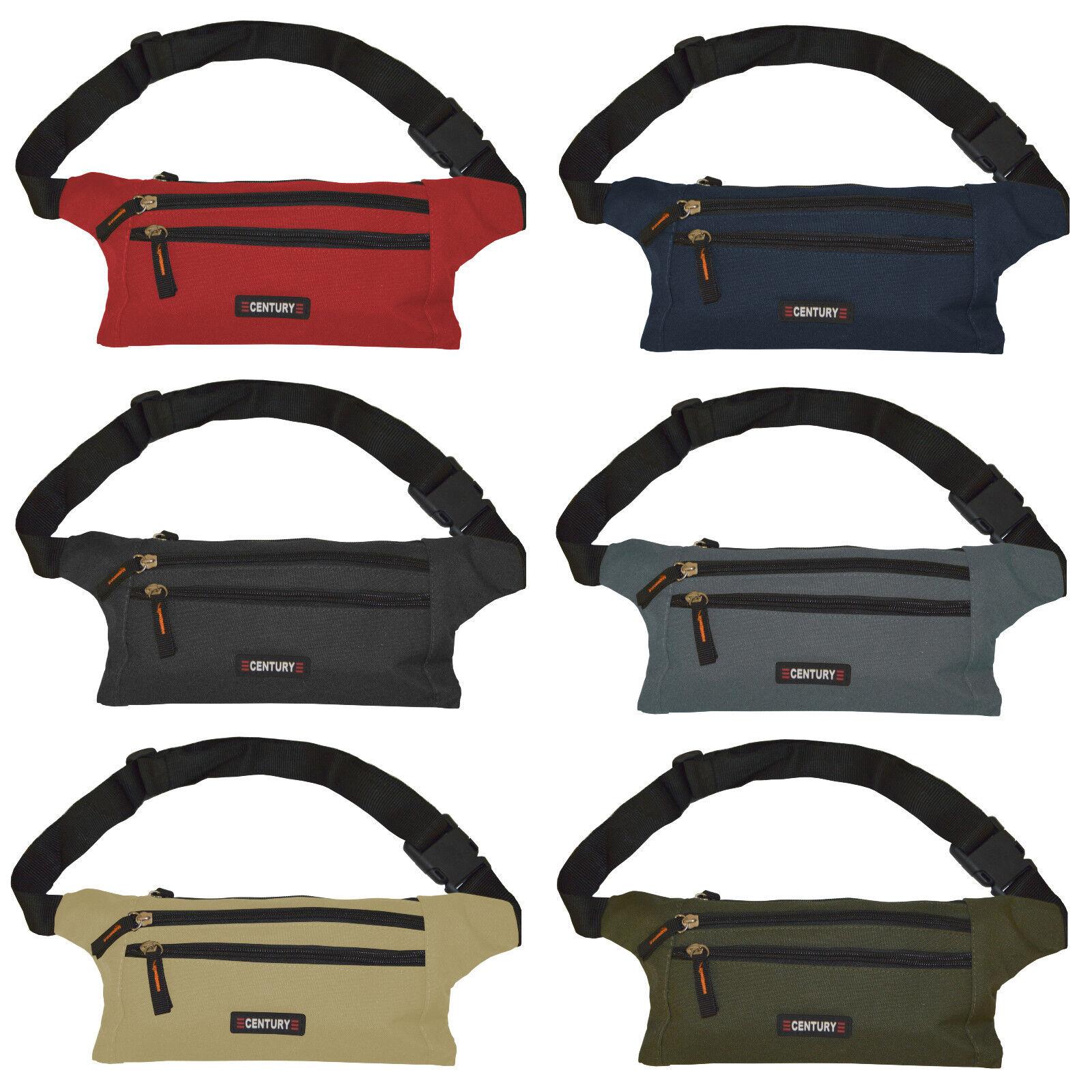 4 Fächer Bauchtasche Gürteltasche Hüfttasche für Erwachsene Damen Herren