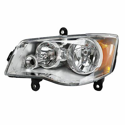 Headlight Left For 2011-17 Dodge Grand Caravan 2008-16 Chrysler Town & Country