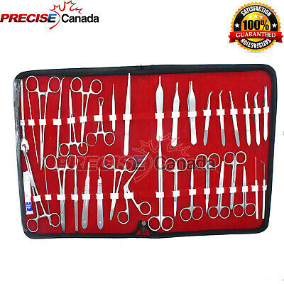 157 Pieces Minor Surgery Suture Set Surgical Instrument Kit Stainless Steel