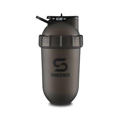 ShakeSphere Tumbler: Protein Shaker Bottle 24oz Capsule Shape Mixing Eas